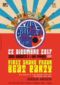 Live | Tony Borlotti e i suoi Flauers Venerdì | 22 | Dicembre | 2017 First Floor Club